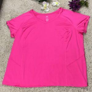 LIVI Active 22/24 Active Wear Hot Pink T-Shirt